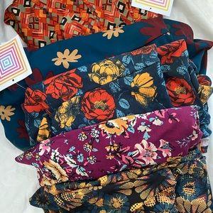 LuLaRoe Maxi Skirt M and L lot